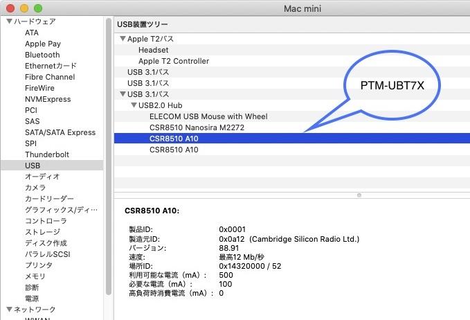 PTM-UBT7X